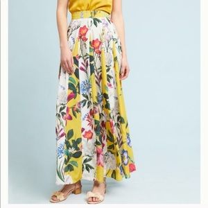 Rococo Sand Maxi Skirt. Size 0. NWOT. Retail- $225